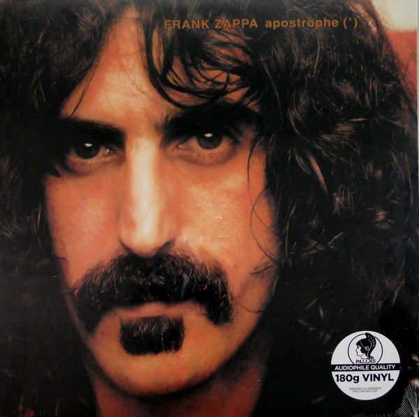 frank zappa apostrophe lp front