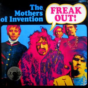 frank zappa the mothers of invention freak out lp front