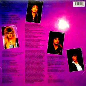 CINDERELLA night songs LP