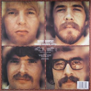 CREEDENCE CLEARWATER BAYOU COUNTRY LP