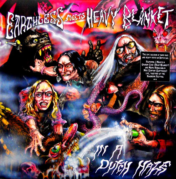 EARTHLESS HEAVY BLANKET in a dutch haze LP 1