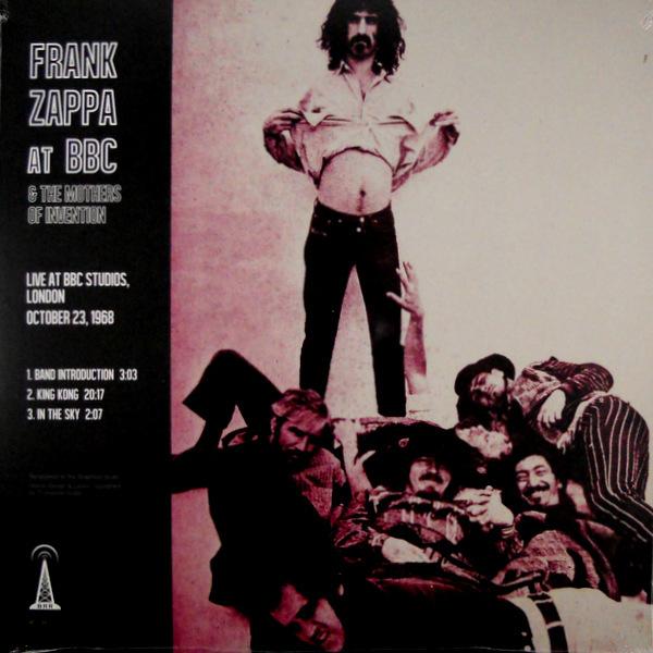 ZAPPA, FRANK live at the bbc LP