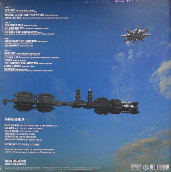 HAWKWIND spacehawks - col vinyl