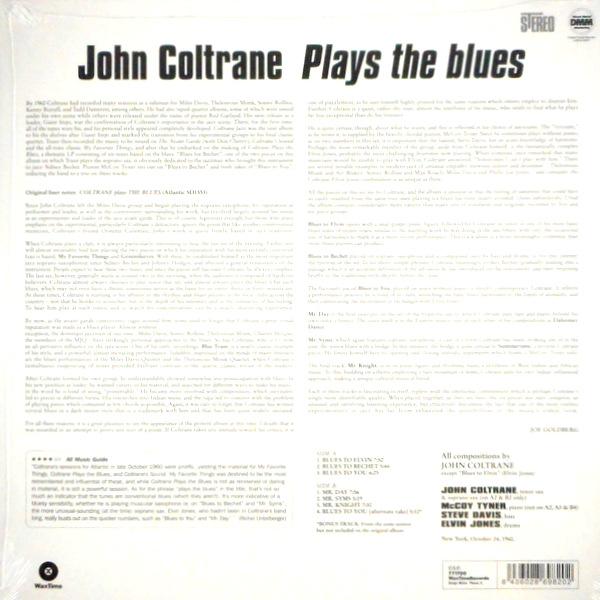 COLTRANE, JOHN coltrane plays the blues LP