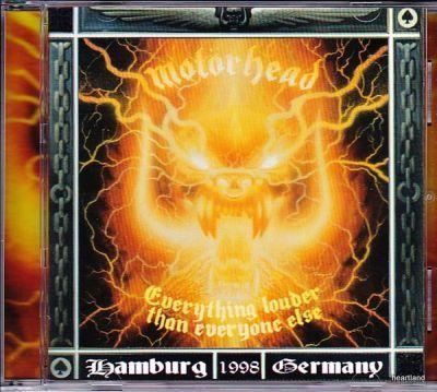 MOTORHEAD - everything louder than everyone else cd