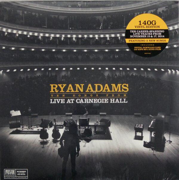 ADAMS, RYAN live at carnegie hall LP
