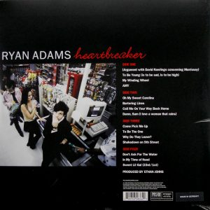 ADAMS, RYAN heartbreaker LP back