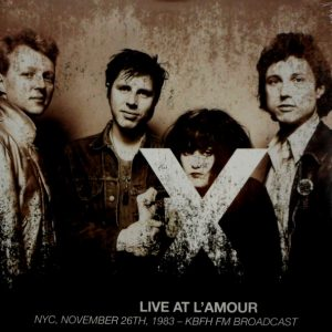 X live at l'amour LP