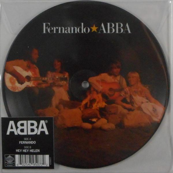 """ABBA fernando - pic disc 7"""""""