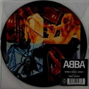 """ABBA money, money, money - pic disc 7"""""""