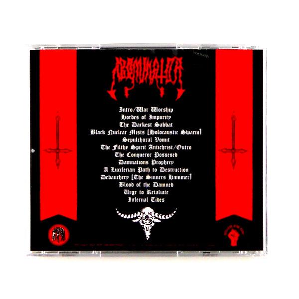 ABOMINATOR barbarian war worship CD