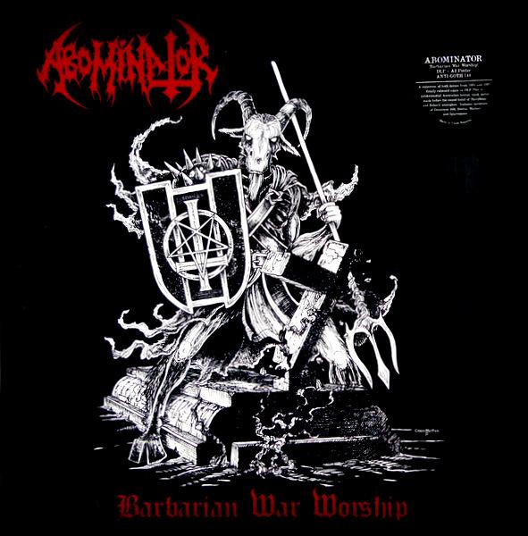 ABOMINATOR barbarian war worship LP