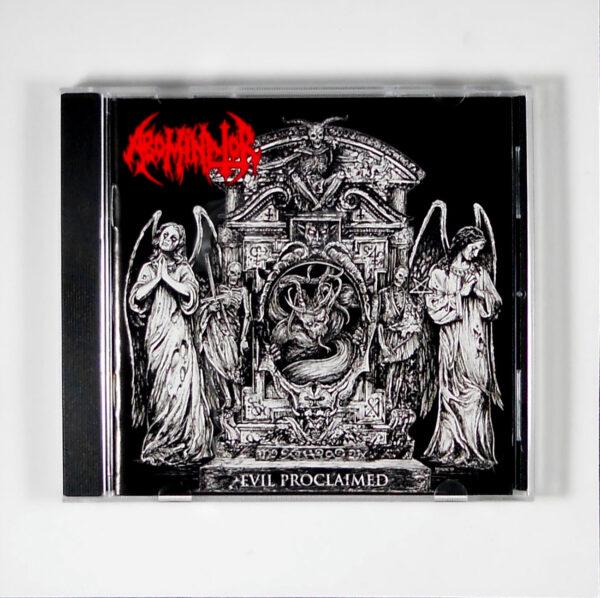 ABOMINATOR evil proclaimed CD