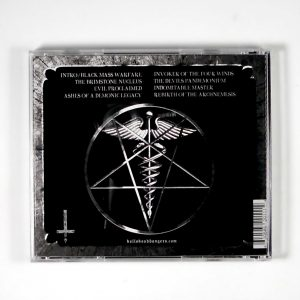 ABOMINATOR evil proclaimed CD back