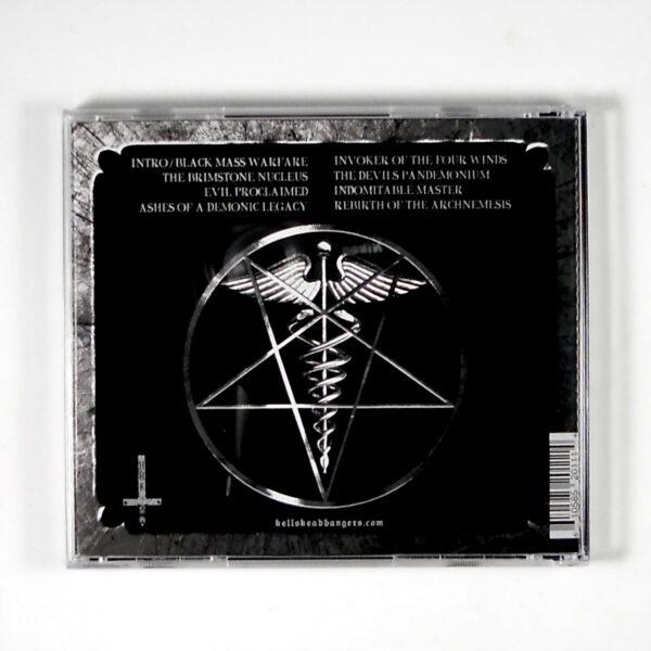 ABOMINATOR evil proclaimed CD back