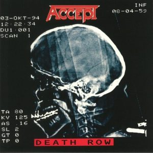 ACCEPT death row LP