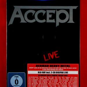 ACCEPT restless and live - Blu-Ray DVD