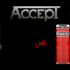 ACCEPT restless and live - box set LP