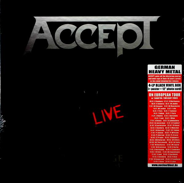 ACCEPT restless and live - box set LP