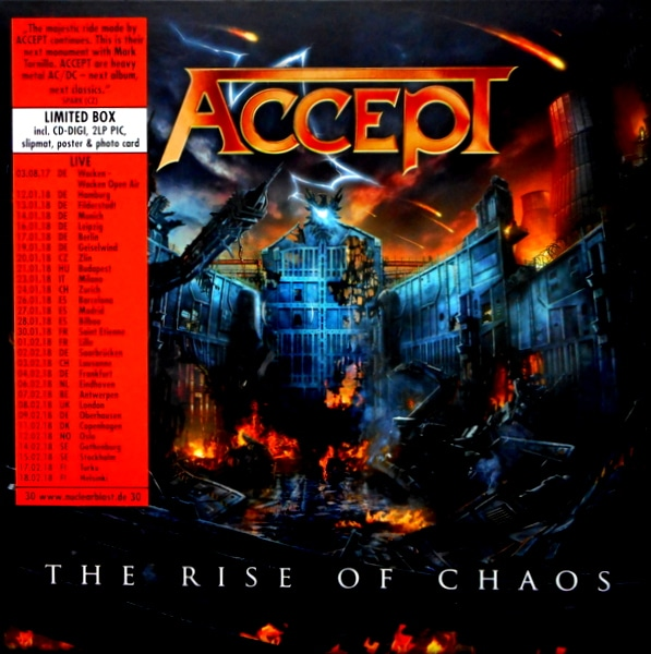 ACCEPT the rise of chaos LP