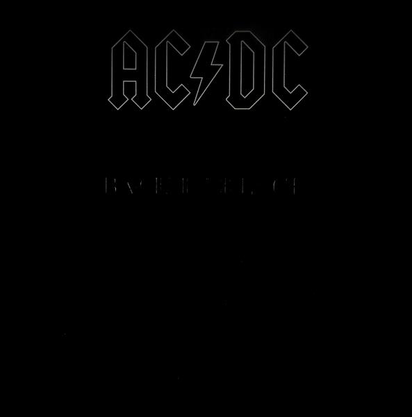 ACDC back in black LP