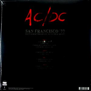 AC/DC san francisco '77 LP