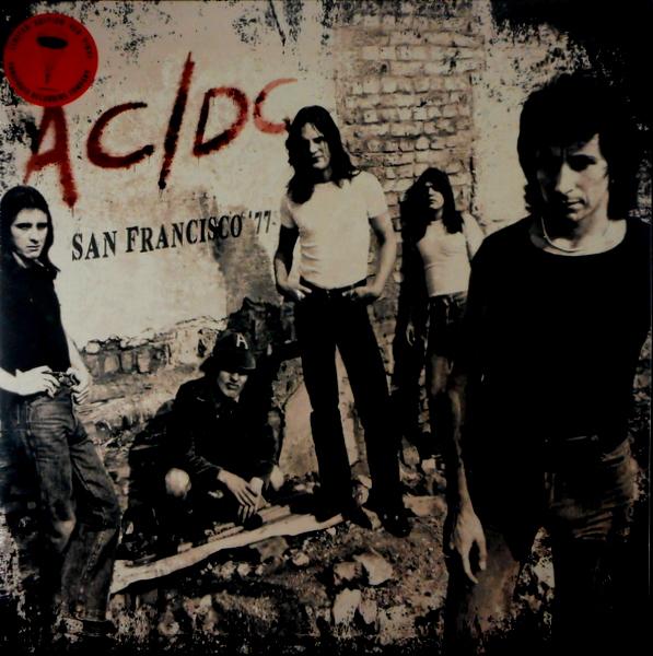 AC/DC san francisco '77 LP
