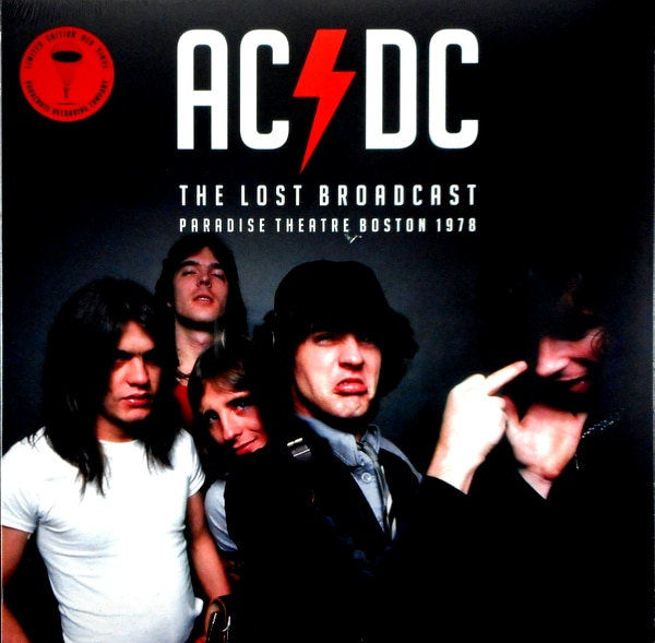 AC/DC the lost broadcast LP