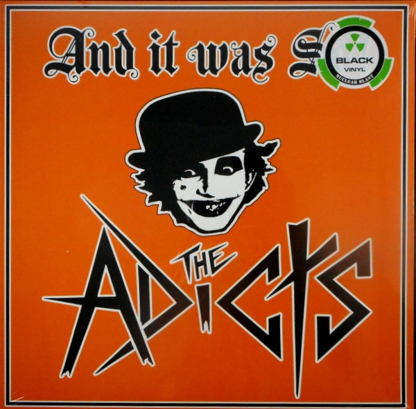 ADICTS, THE and it was so LP