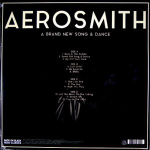 AEROSMITH a brand new song and dance LP