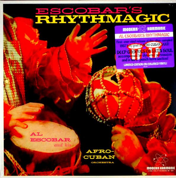 ESCOBAR, AL escobar's rhythmagic LP
