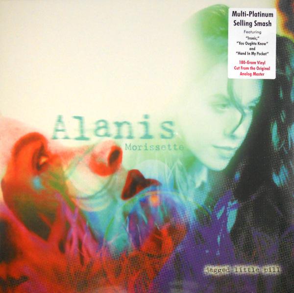 MORISSETTE, ALANIS jagged little pill LP