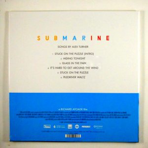 "ALEX TURNER submarine 10"" inch soundtrack back"