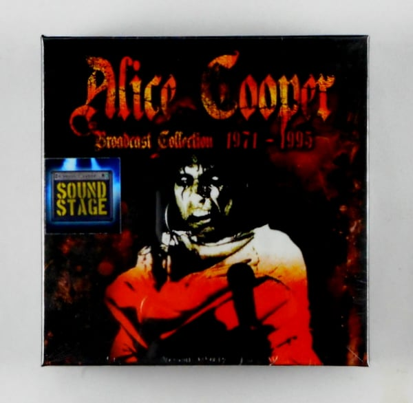 COOPER, ALICE the broadcast collection CD