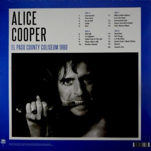 COOPER, ALICE el paso county coliseum 1980 LP