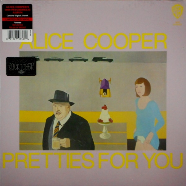COOPER, ALICE pretties for you - col vinyl LP