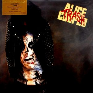 COOPER, ALICE trash - black vinyl LP