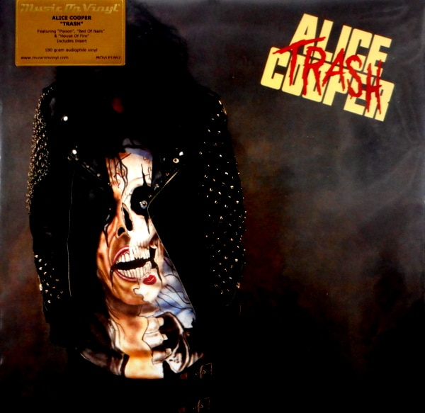 COOPER, ALICE trash - black vinyl LP