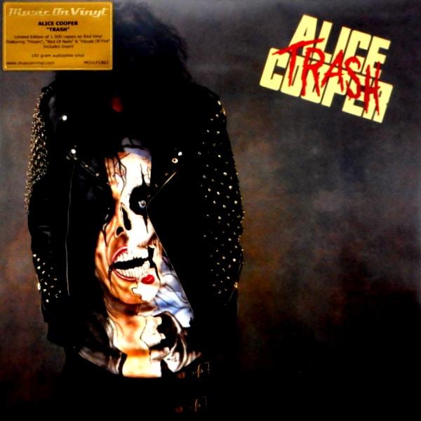 COOPER, ALICE trash - red vinyl LP