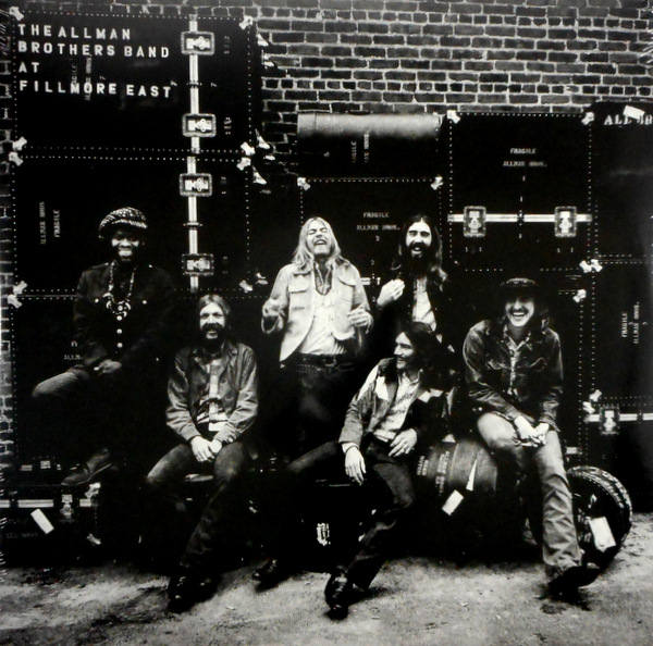 ALLMAN BROTHERS, THE at fillmore east LP