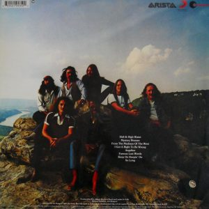 ALLMAN BROTHERS BAND, THE reach for the sky LP back