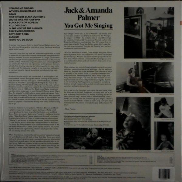 PALMER, AMANDA & JACK you got me singing LP