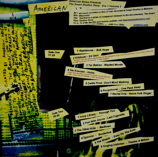 VARIOUS ARTISTS american noise - vol 1 LP