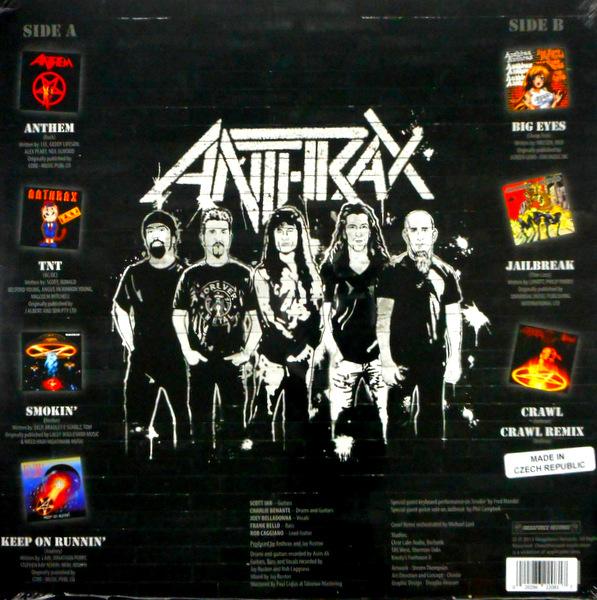 ANTHRAX anthems - col vinyl LP