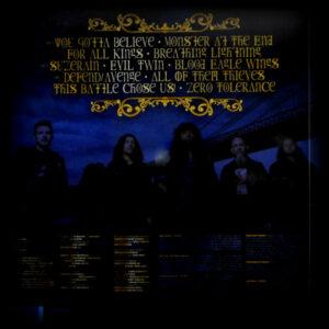 ANTHRAX for all kings - blue/white vinyl LP