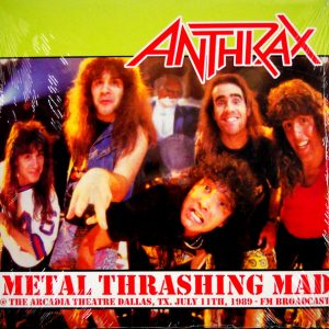 ANTHRAX metal thrashing mad LP