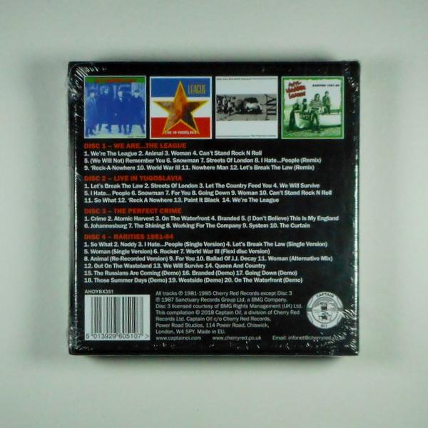 ANTI-NOWHERE LEAGUE the albums 1981-87 CD