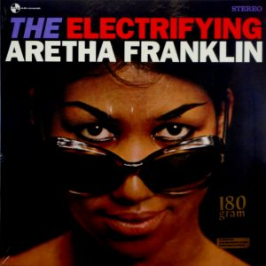 FRANKLIN, ARETHA the electrifying LP