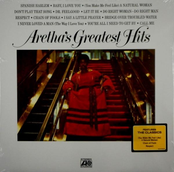 FRANKLIN, ARETHA aretha franklin greatest hits LP