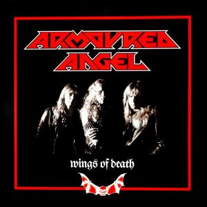 ARMOURED ANGEL wings of death 12""